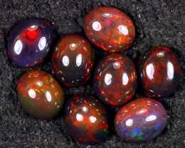16.54cts Natural Ethiopian Welo Smoked Opal LOTS / UX1625