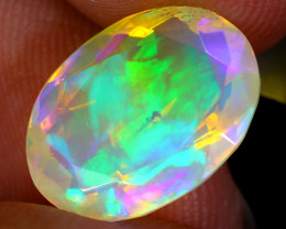 3.49cts Natural Ethiopian Faceted Welo Opal/ BF9893