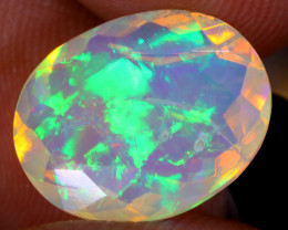 3.15cts Natural Ethiopian Faceted Welo Opal/ BF9896