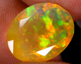 3.17cts Natural Ethiopian Faceted Welo Opal/ BF9899