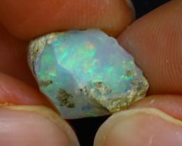 6.60Ct Multi Color Play Ethiopian Welo Opal Rough H0416/R2