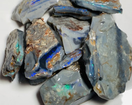 240 CTs of Big Size Rough Seam Opals to Carve & Cut#360