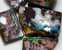 Red Boulder Opals of Winton Field- Good Luck Bidding #370