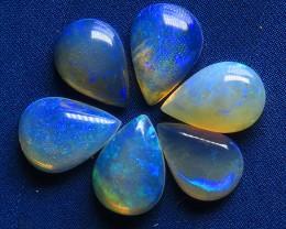 2.4ct White / Precious South Australian Opal Parcel