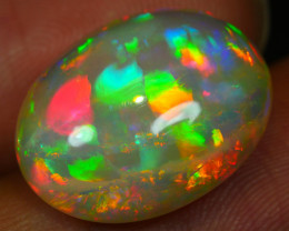 7.50 CRT DELUXE BRIGHT 5/5 PATCHWORK RAINBOW PRISM WELO OPAL