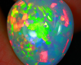 16.13 CT Patchwork HoneyComb Pattern!! Natural Ethiopian Opal S2-18