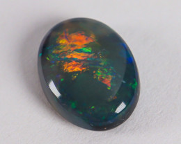 Lightning Ridge Australia - Solid Black Opal - 1.7 cts