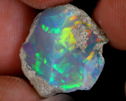 7cts Natural Ethiopian Welo Rough Opal / WR9128