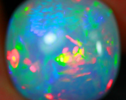 10.74 CT White Base!! Galaxy Pattern Natural Ethiopian Opal S2-31