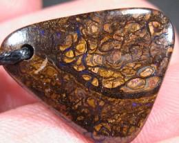 YowahOpals*18.70ct Matrix Opal - PENDANT - Boulder Opal