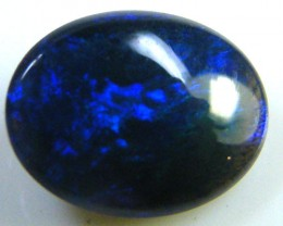 BLACK OPAL IDEAL RING STONE GREEN HUES . .60   CTS   QO 2351