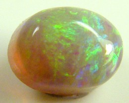 CRYSTAL  OPAL IDEAL RING STONE SUNSET   HUES .4   CTS   QO 2390
