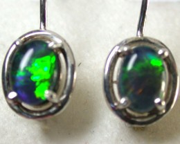 GREEN FIRE TRIPLET EARRINGS 1.20 CTS SCA1024