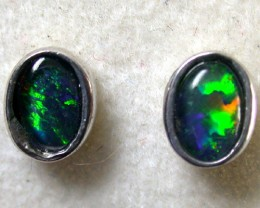 GREEN FIRE TRIPLET EARRINGS 1.30 CTS SCA1038