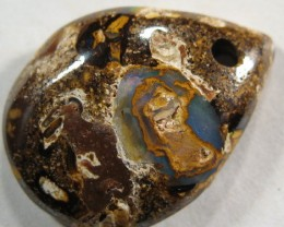 YowahOpals*15.75ct -BOULDER OPAL DRILLED- Boulder Matrix