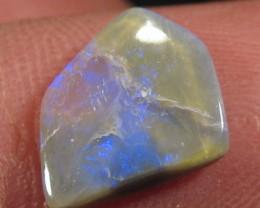 YowahOpals*1.70ct -Black Opal -/- Semi Black Opal.
