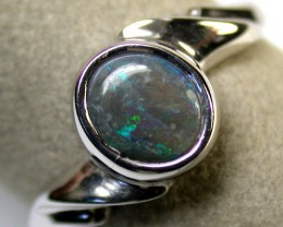 BLACK OPAL RING 8.5 SIZE 1.50 CTS SCA1118