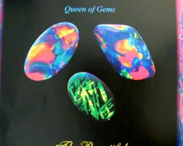 This is a poster from the opal association.It is to promote opal in October as it the birth stone for this month.Size 400 x 300 mm
