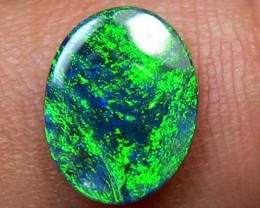 OP BLACK OPAL RARE FIRE DOUBLE SIDED  B573