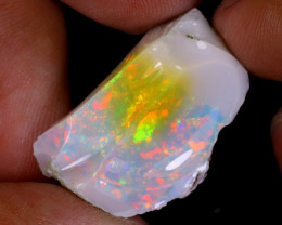 21cts Natural Ethiopian Welo Rough Opal / WR9160