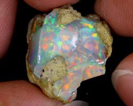 13cts Natural Ethiopian Welo Rough Opal / PA582