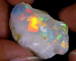 19cts Natural Ethiopian Welo Rough Opal / WR9173
