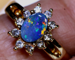 15CTS   DOUBLET OPAL RING OF-3022   OPALSFOREVER