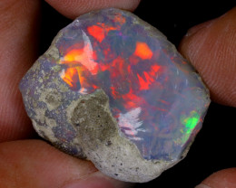 22cts Natural Ethiopian Welo Rough Opal / WR9266