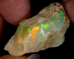 25cts Natural Ethiopian Welo Rough Opal / WR9274