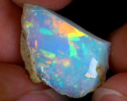 6cts Natural Ethiopian Welo Rough Opal / PA616