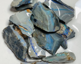 Big Size Cutters Select Bright Rough Seam Opals #450