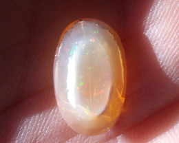 2.54 Ct Faceted Fire Mexican Opal