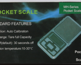 NO RESERVE!! Digital Pocket Scale [38487] 53FROGS
