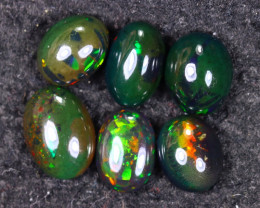 14.95cts Natural Ethiopian Welo Smoked Opal LOTS / UX1669