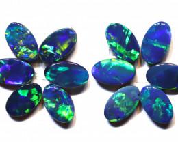 1.84 carats Opal Doublet Stone Parcel 12 pieces ANO-3336