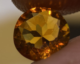 1.115ct Faceted  Mexican Fire Opal (OM)