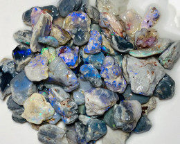 Rough Nobby Opals with Bright Colours to Explore