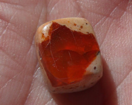 6.59 Ct. Mexican Cantera Fire Opal Cabochon