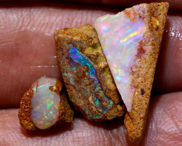 9.35cts Boulder Pipe Opal Rough Parcel  ADO-A223   adopals