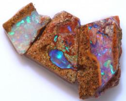 10cts Boulder Pipe Opal Rough Parcel  ADO-A224   adopals