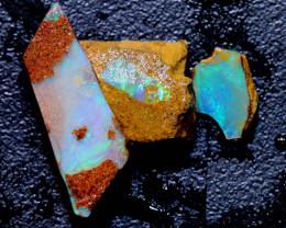 6.35 cts Boulder Pipe Opal Rough Parcel  ADO-A229   adopals