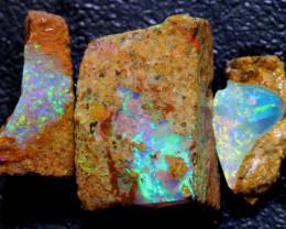 7cts Boulder Pipe Opal Rough Parcel  ADO-A233   adopals