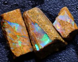 6.80cts Boulder Pipe Opal Rough Parcel  ADO-A235   adopals