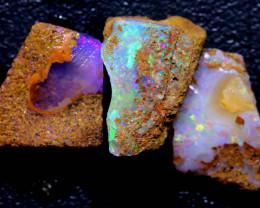 8.95cts Boulder Pipe Opal Rough Parcel  ADO-A242   adopals