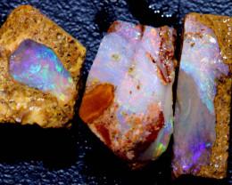 11.25cts Boulder Pipe Opal Rough Parcel  ADO-A244   adopals