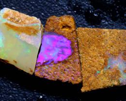 7.65cts Boulder Pipe Opal Rough Parcel  ADO-A245   adopals
