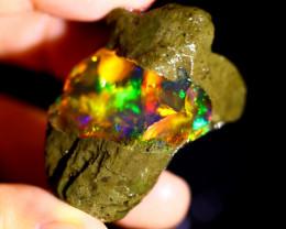 91cts Ethiopian Crystal Rough Specimen Rough / CR5461