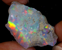 19cts Natural Ethiopian Welo Rough Opal / WR9409