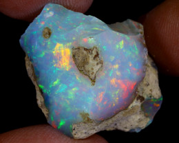 30cts Natural Ethiopian Welo Rough Opal / WR9456