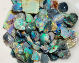 120 CTs of Colourful Rough Nobby Opals with Potential
